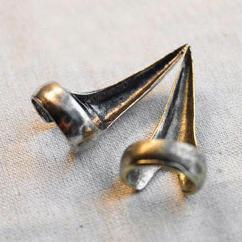 Кольцо Панк Цвет старое серебро кольца для ногтей для женщин вечерние кольца Anel ювелирные изделия Anillos ювелирные изделия Aneis Bague Anelli