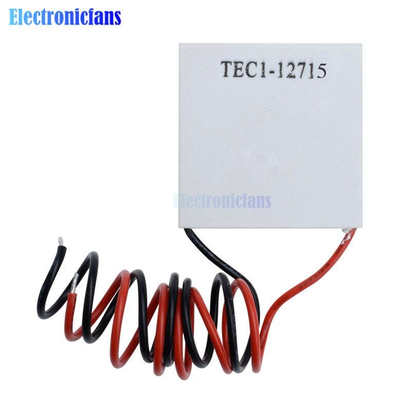 TEC1-12703 12705, 12706, 12709, 12710, 12712, 12715 SP1848-27145 refrigerador termoeléctrico Peltier 12V 5A células Peltier Elemente módulo