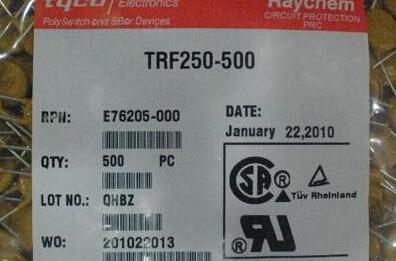 500 piezas x TRF250-500 TF500 0.5A 250 V PTC fusibles rearmables