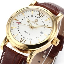 MG. ORKINA Mens Watches Luxury Golden Case Luminous Pins orologio uomo Auto Date Japan Made Miyota Movement Kol Saati