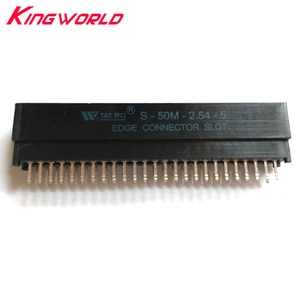 10pcs 2.54mm 50Pin Interval Card Slot for Sega Mark III console replacement part