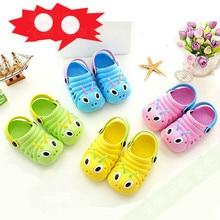 2019 Summer Caterpillar Children's Sandals Eva Baby Sandalen Infant Girl Sandals Non Skid Kids Baby Shoes Girl Boy Brand Sandal