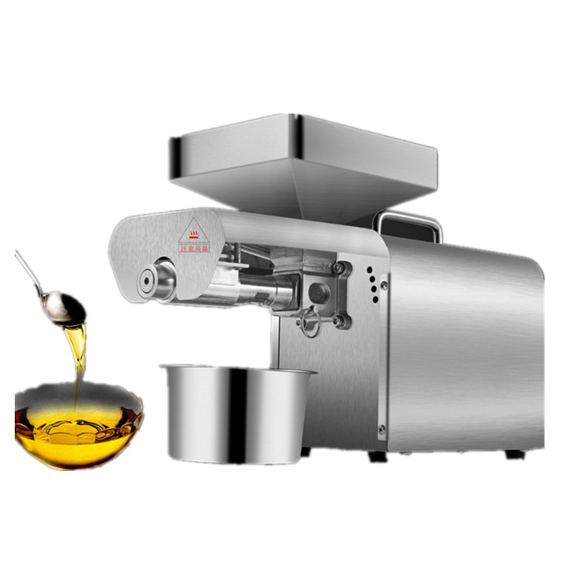 Home olive nut oil cold press machine for sale