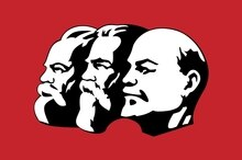 90*150cm Marx Engels Lenin Communism CCCP USSR Soviet Union Flags And Banner
