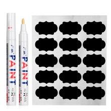 Étiquettes autocollantes dépices de cuisine   Étiquette tableau noir imperméable, avec stylo marqueur, pot de confiture de bouteille, maison, 90 pièces/ensemble