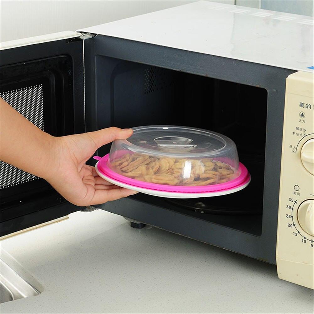 Пластиковая Герметичная крышка для хранения пищевых продуктов, крышка для микроволновки, крышка для холодильника, фотопластина, пылезащит...