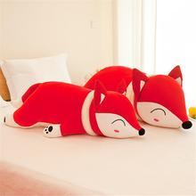 Kawaii poupées renards en peluche et peluche jouet pour filles enfants garçons jouets en peluche Animal oreiller renard peluche Animal peluche peluche poupée 35-90 cm