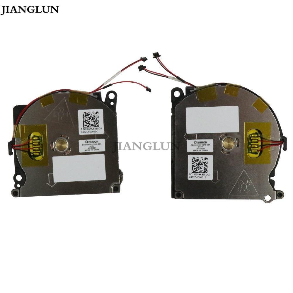 JIANGLUN New CPU GPU Cooling Fan EG50040S1-C740-S9A 855630-001 For HP spectre13-V 13-V010CA 13-V011DX 13-V110CA 13-V111DX