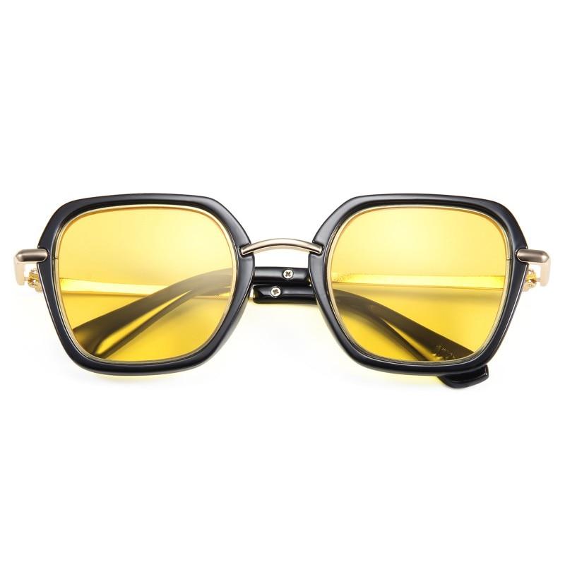 Niños gafas de sol de moda polígono niños niñas gafas de sol anteojos coloridos de moda gafas de sol UV400