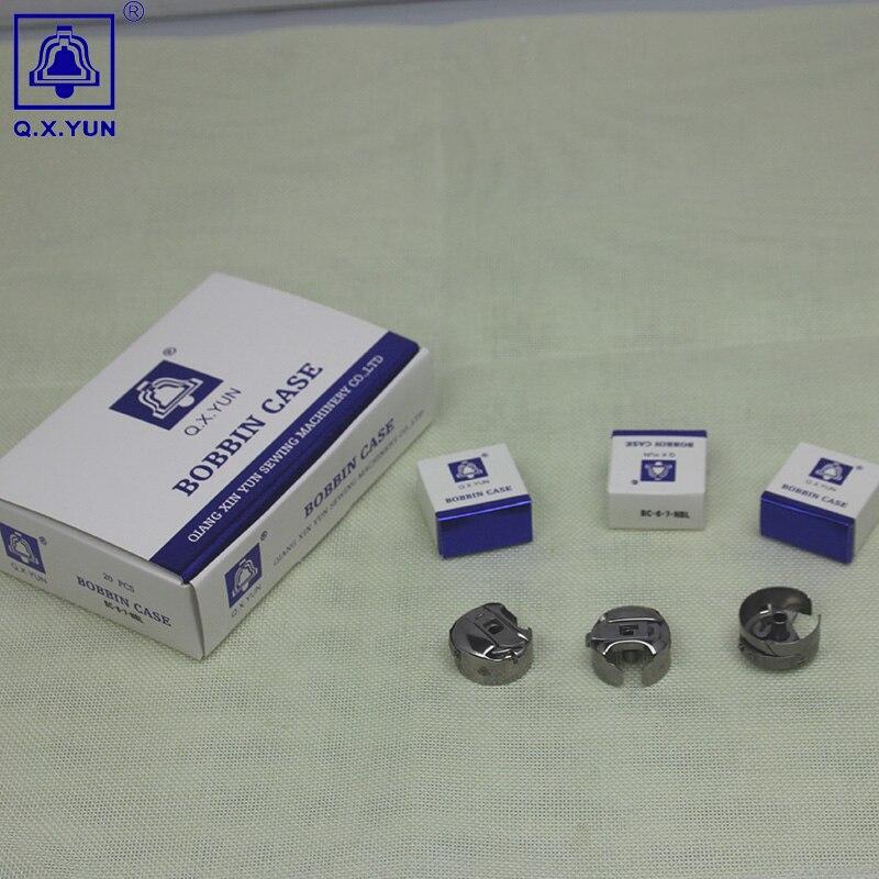 Computador máquina de bordar peças 2 vezes capacidade BC-6-7 bloqueio rotativo KSH20-R caso bobina bordado máquina bobina cama do eixo
