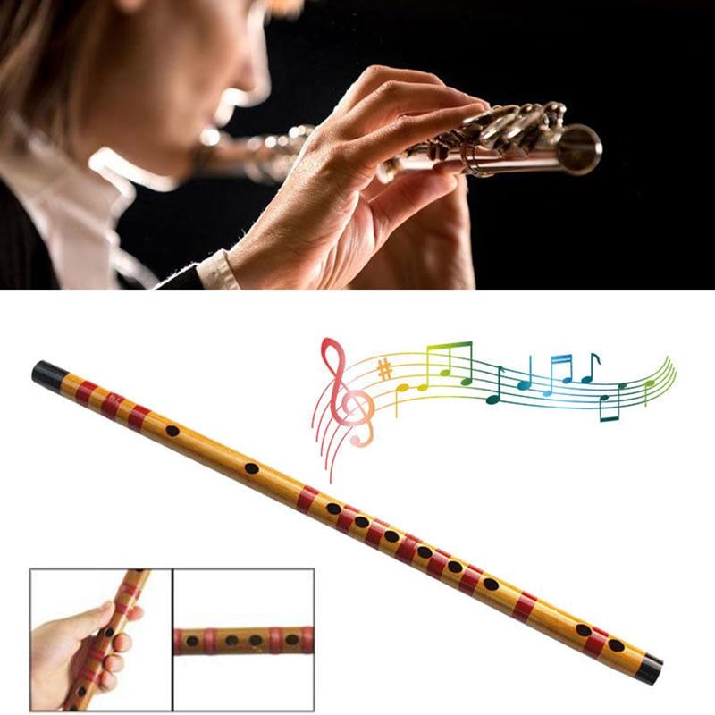 Instrumento Musical de bambú flauta profesional hecho a mano para estudiantes principiantes DX88 1 Uds.