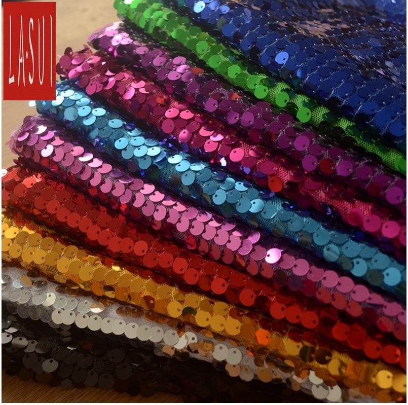 LASUI 10 cores 9 MM cupons de Casamento fundo de estágio tecido de alta densidade de fios net traje espetáculo de Dança decoração diy