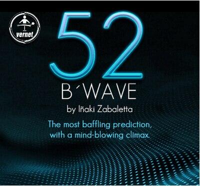 2014 52 bwave durch vernet-karte magic tricks