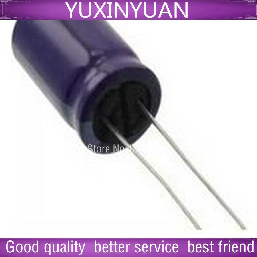 10 PCS/LOT 50 v 330 uf 330  method 50 v v volume 10 * 16 105 degrees into the aluminum electrolytic capacitor long life