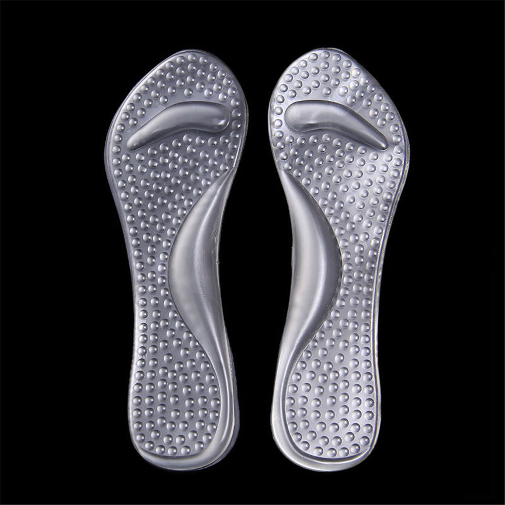 Non-Slip Foot High Heels Shoes Pad Women Silicone Gel Massage Arch Support Insoles Flatfoot Prevent Feet Care Tool