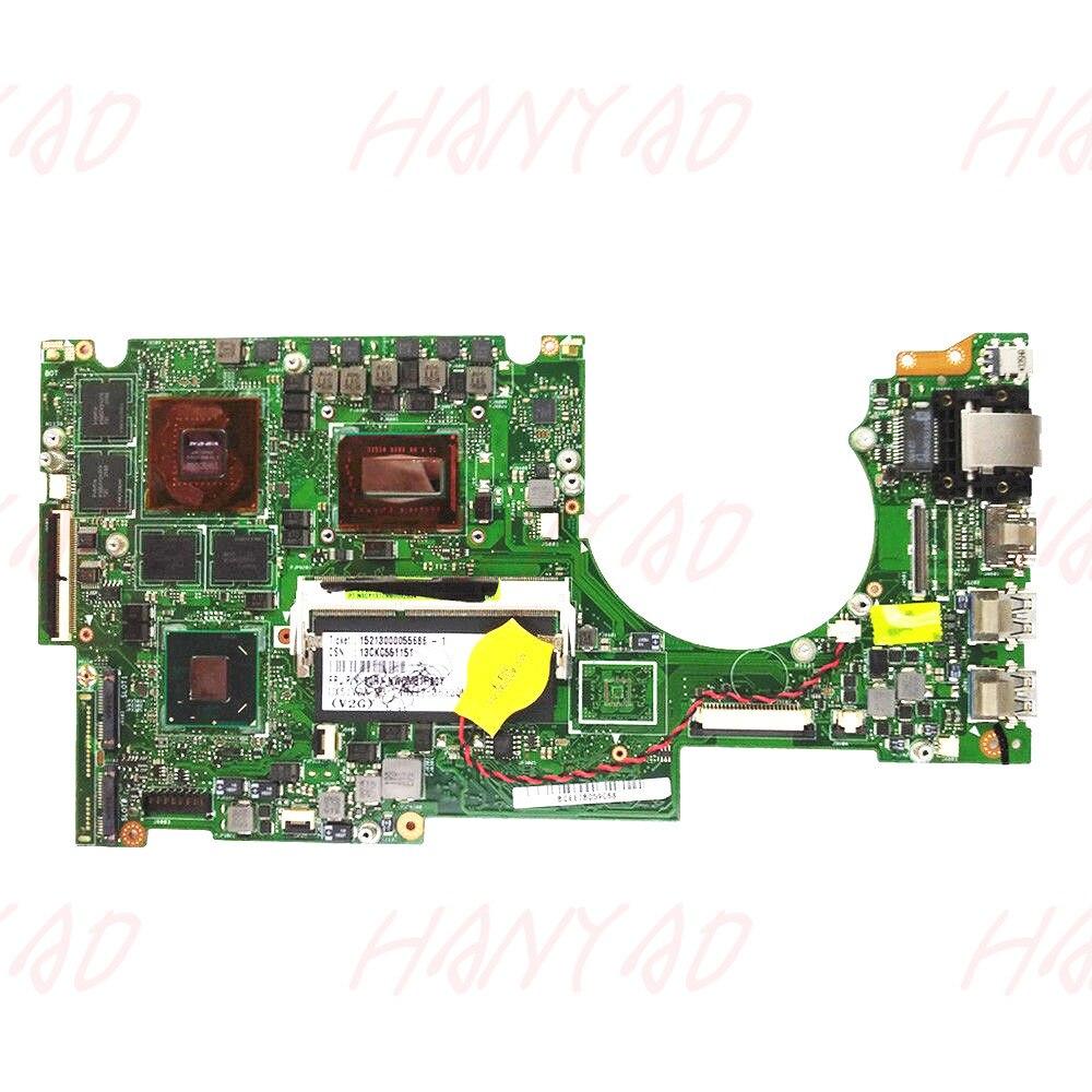 60-NWOMB1H02 للكمبيوتر المحمول ASUS UX51VZA, اللوحة الأم i7 cpu 4GB HM77 GT650M 2GB UX51VZ REV2.0 شحن مجاني 100% اختبار ok