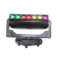 2019 new 7pcs led moving head beam wash zoom background concert light for stage
