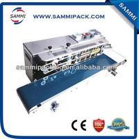 Multi-Functional Film Heating Sealer Continuous Band Plastic Bag Sealing Machine