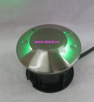 Free shipping by DHL !! Stainless steelAnti glareHigh power 3W LED inground lightundergruond LED light3X1W110-250VACIP67