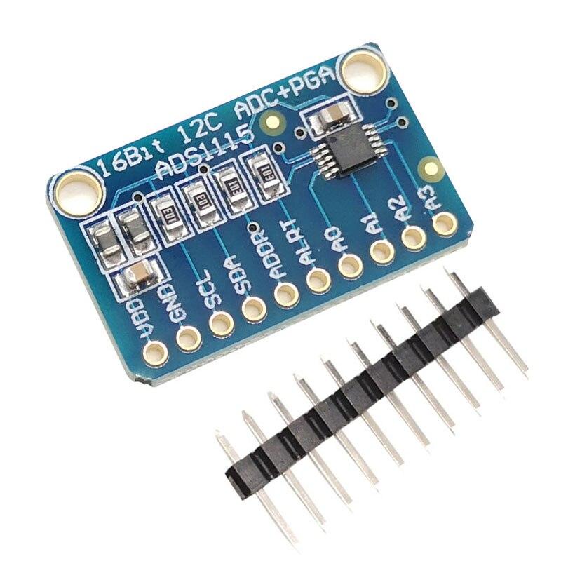 1PC Microminiature 16 bits précision analogique-numérique convertisseur ADC Module de carte de développement ADS1115