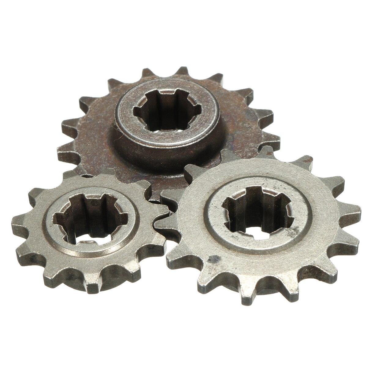Mini Moto Dirt Bike   Dents T8F 8mm 11/14/17 pignon avant, pignon chaîne