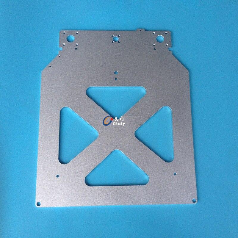 Ultimaker 2 طباعة الجدول قاعدة لوحة ل DIY ultimaker 3D طابعة الحرارة السرير الألومنيوم لوحة الساخن النهاية دعم لوحة