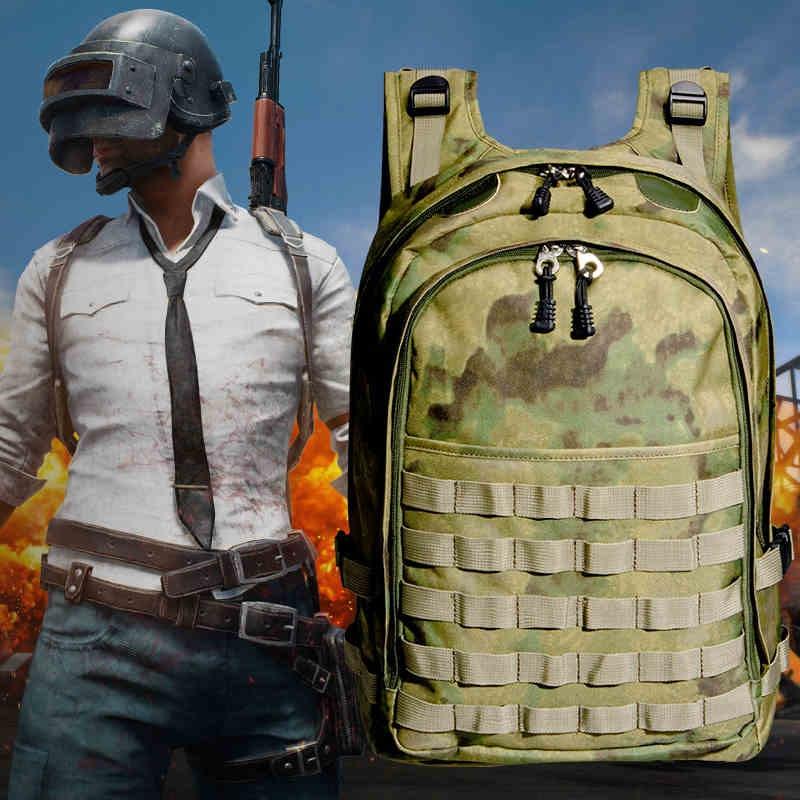 Playerunknowns Battlegrounds PUBG Winner pollo cena Nivel 3 mochila multifuncional táctica Cosplay mochilas Accesorios