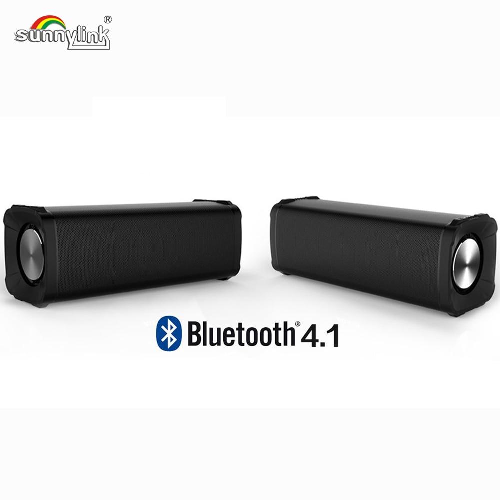 2 шт./лот водонепроницаемый bluetooth-динамик TWINS 100% настоящий беспроводной стерео TWS пара BLUETOOTH динамик 12 Вт со встроенным микрофоном