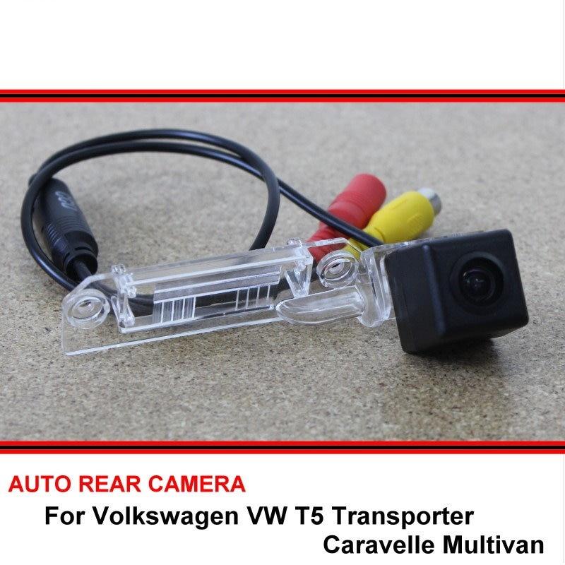For Volkswagen T5 Transporter Caravelle Multivan 2003~2015 HD Car Reverse Backup Rearview Parking Rear View Camera Night Vision