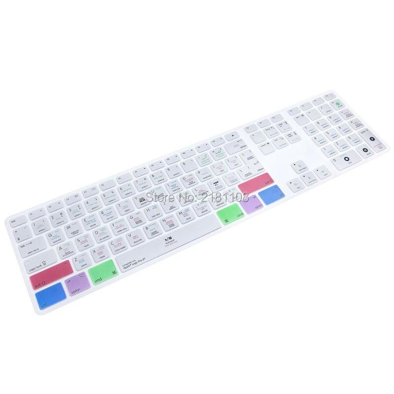 Ableton-cubierta de teclado para iMac, teclado inalámbrico con función de creación multimedia,...