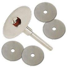 5 uds 22mm accesorio de disco de corte de madera para dremel herramientas rotativas dremel herramientas dremel