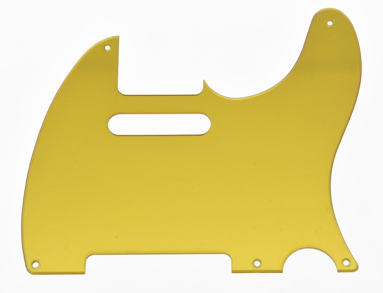 Espejo dorado Vintage 5 agujeros TL golpeador rascador placa
