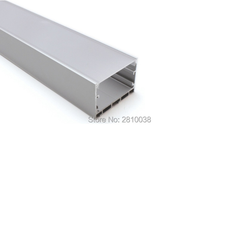 100 X 1M Sets/Lot Office lighting led aluminum profile channel and New U-shape led alu extrusion for ceiling or wall lights