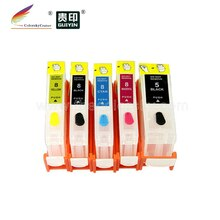 (RCC5/8) doldurulabilir mürekkep canon için kartuş PGI5 CLI8 iP6600D iP6700D iX4000 iX5000 MP500 MP510 MP530