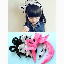 Bandeau en forme de fleurs pour filles   Ruban fait à la main coréen rétro, accessoires pour cheveux, épingle à cheveux pour enfants