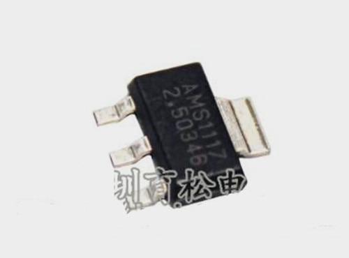 Free Shipping!!! AMS1117-2.5V Power IC Buck IC Linear Regulator LDO SOT-223