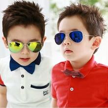 DRESSUUP Fashion Baby Boys Kids Sunglasses Piolt Style Brand Design Children Sun Glasses 100%UV Prot