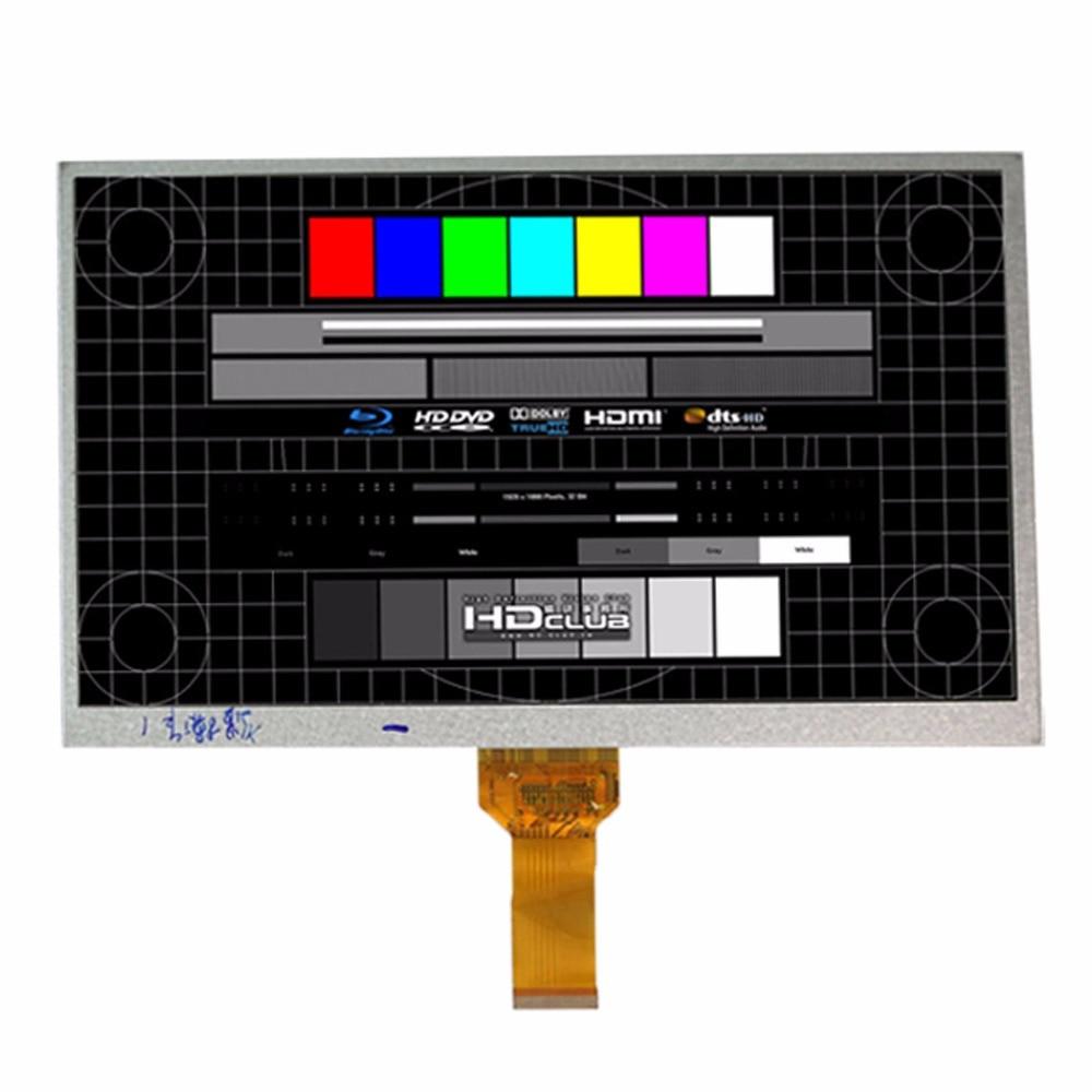 Nueva tableta pc DX1010BE40B0.V3 YS FC101TFTCP40A KR101LE3S, pantalla TFT LCD, 10,1x1024 de 600 pulgadas para ALLWINNER A10 A13