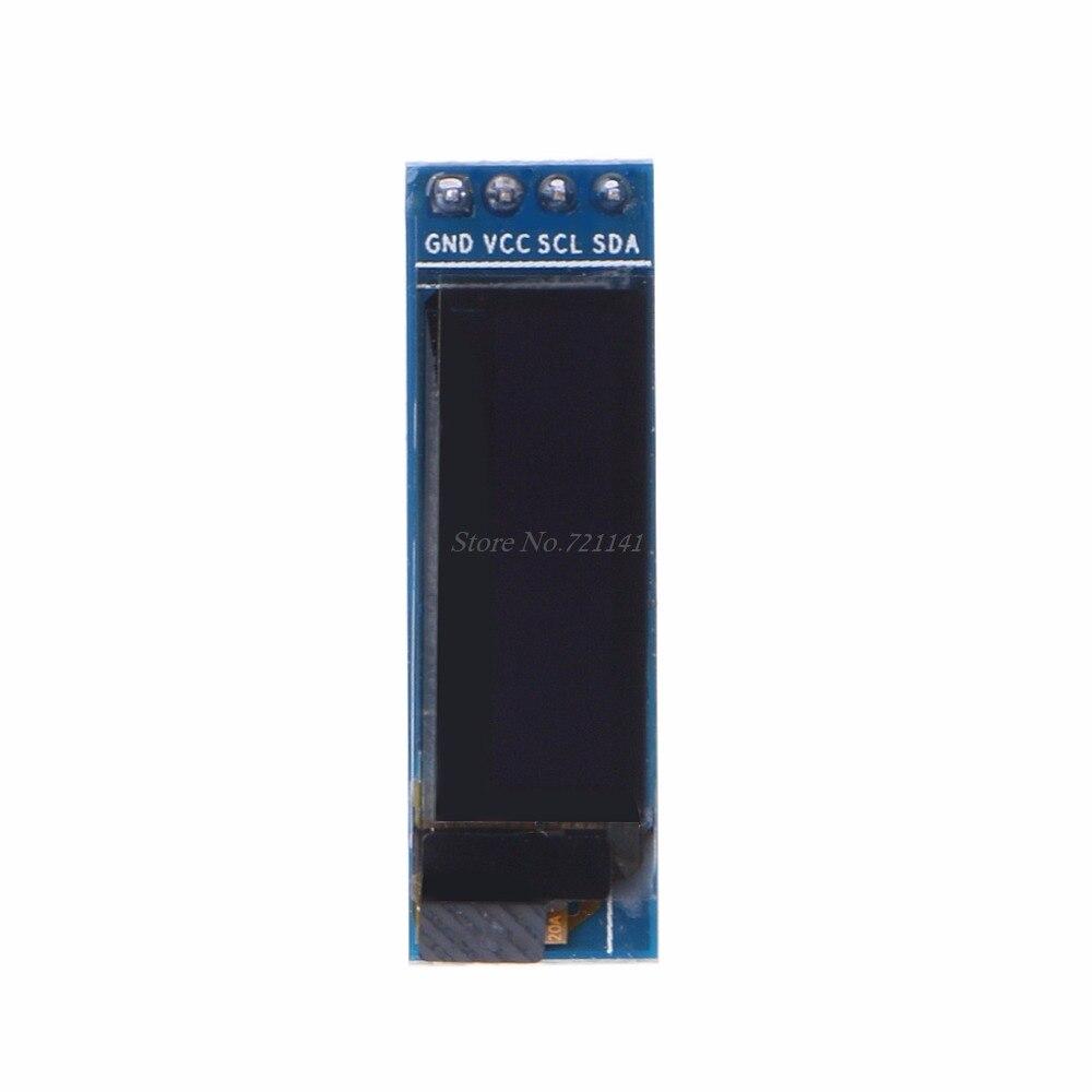 """0,91 """"Белый I2C IIC O светодиодный модуль 128x32 ЖК-дисплей SSD1306 Прямая поставка"""