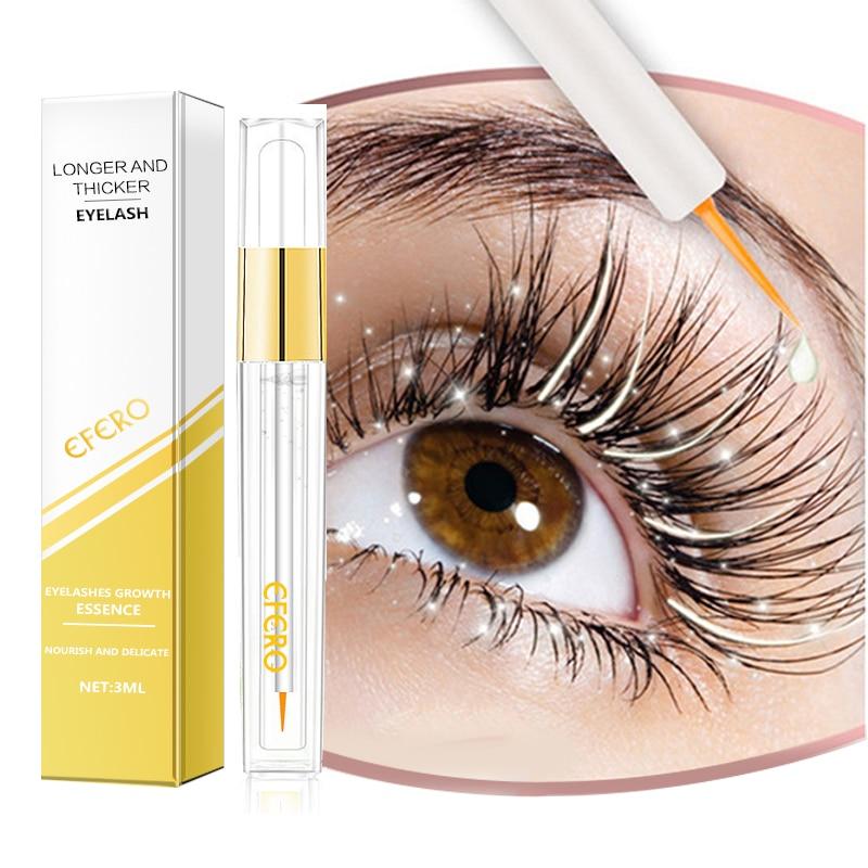 EFERO Eyelash Growth Serum Enhancer Treatments Lash Lift Serum For The Growth Of Eyelashes Curling Eyelashes Mascara Growth Tool