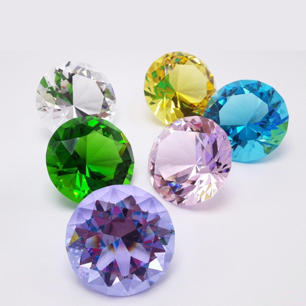 Fengshui-Cristal de cuarzo transparente natural de 2 pulgadas y 50mm, piedra de...