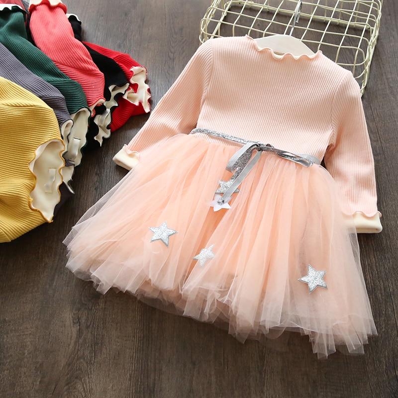 Girls Dresses Kids Princess Dress For Girls 2017 Winter Thick Plus Velvet Costumes Baby  Vestidos Children Long Sleeve Clothes