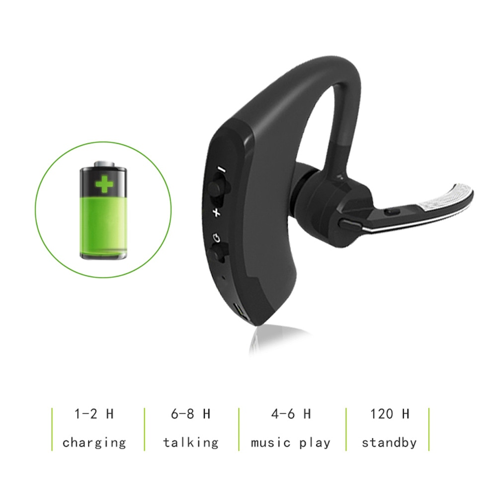 Bluetooth Headset Wireless Earphones V4.1Ear Hook Headphone for Phones With MIC Earphone For iphone 7 Plus Headset for Meizu