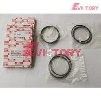 Genuine 3LD2 piston ring set For Hiatch ZAXIS35U excavator