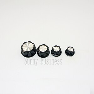 50 PCS Rotary Control Turning Knob for Hole 6mm Dia. Shaft Potentiometer 360 Degree 100% New