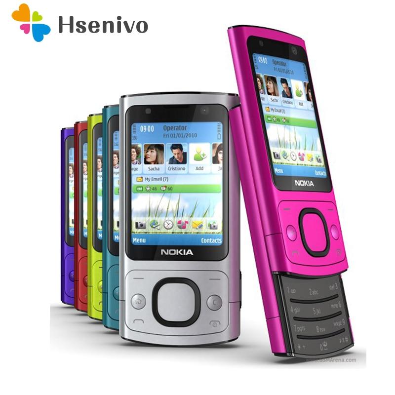 نوكيا 6700 s تجديد الأصل نوكيا 6700 s 6700 Silder الهاتف المحمول 3G GSM مقفلة الهاتف الأرجواني والساخنة بيع الهاتف