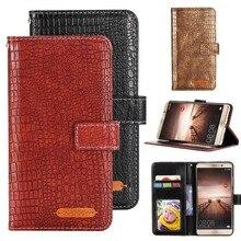 GUCOON Fashion Crocodile Wallet for BQ BQS-5004 Paris Case Luxury PU Leather Phone Cover Bag High Quality Hand Purse