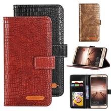 GUCOON Fashion Crocodile Wallet for Jinga Basco L1 L2 L3 L400 L451 L500 Case Luxury PU Leather Phone Cover Bag Hand Purse