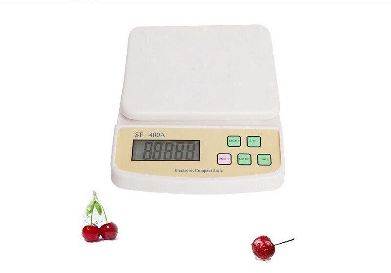 Balanza de cocina 10kg electrónica digital medida de cocina pantalla lcd herramienta de medición balance cocina balanzas abs plástico