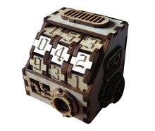 Houten Board Game Accessoires Stoom Peng Teller Voor Rpg Srpg S Rpg Diy Gaming Leven Waarde Recorder